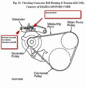 Service Manual  How To Replace 1987 Mazda 626 Steering