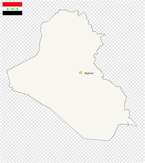 Free Blank Map Of Iraq