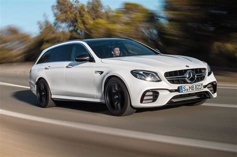 603 Hp 2018 Mercedes-amg E63 S Wagon Debuts Later This Year