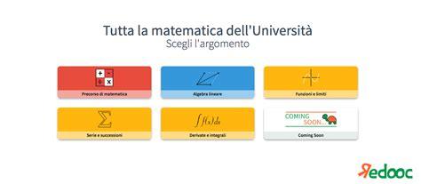 Test D Ingresso Matematica Università Appunti Di Matematica Per L Universit 224 Redooc