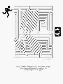 run for fitness maze