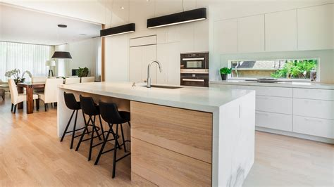 armoire de cuisine moderne modern style kitchen in montreal south shore ateliers