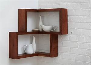 15 breathtaking floating shelves that you don39t have to diy With out of the box corner wall shelves