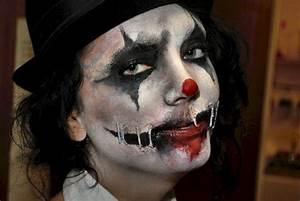 Scary Clown - Halloween makeup by Tyrannika on DeviantArt