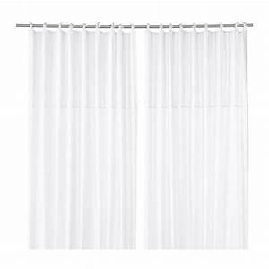 Ikea Rideau Blanc : p rlblad rideau 2 panneaux ikea ~ Melissatoandfro.com Idées de Décoration