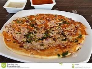 Indian Uttapam stock photo. Image of cooking, indian ...