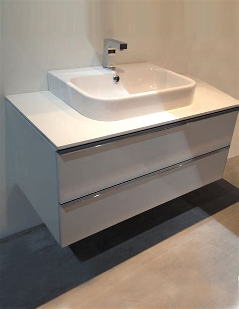 duravit happy d2 600mm white vanity unit with console and