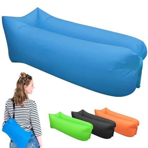 canapé gonflable pas cher fauteuil gonflable exterieur achat vente fauteuil