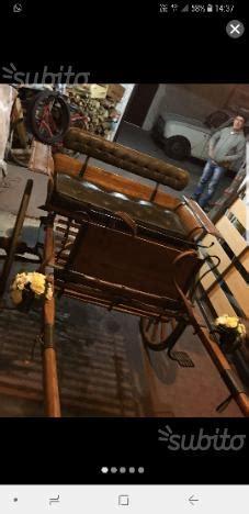 Carrozze Per Cavalli In Vendita by Calesse E Carrozza Per Cavalli Posot Class