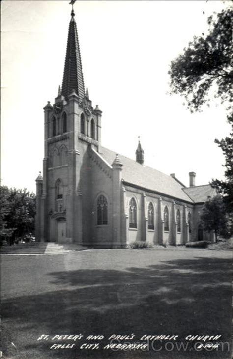 st peters  pauls catholic church falls city ne