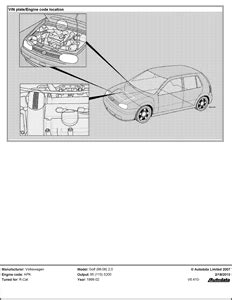 Complete Engine Diagram Tdi Golf Fixya