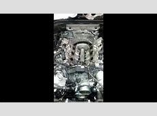 BMW N63 reverse flow engine running with no manifolds
