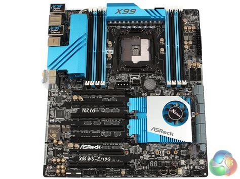 asrock  ws  motherboard review kitguru