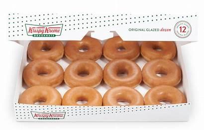 Krispy Kreme Glazed Dozen Doughnuts Boxes Half