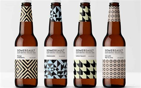Somersault Introduces Adult Soda Line With Design By