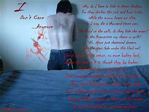 Don't Care Anymore by LilithLairPoetry on DeviantArt