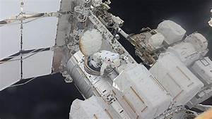 Space station astronauts carry out extended spacewalk ...