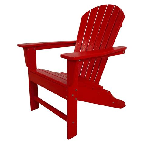 adirondack chair polywood south patio adirondack chair