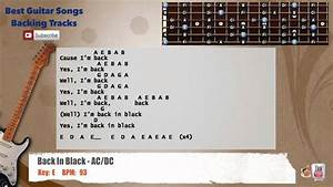 Back In Black  Dc Guitar Backing Track With Vocal