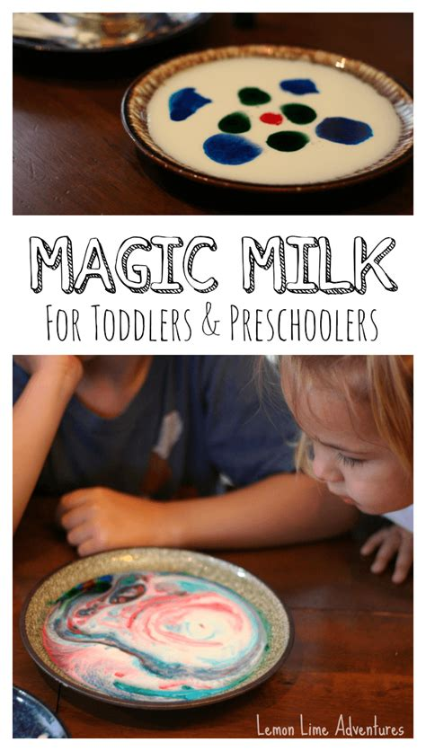 easy preschool science activities magic milk for toddlers and preschoolers with palmolive 422