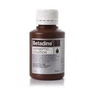 Betadine Skin Prep