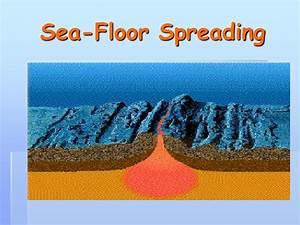 Ppt - Sea-floor Spreading Powerpoint Presentation