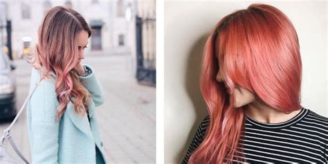 Blond Hair Painting As For Rose Gold Hair Inside Newest