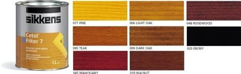 Oil Or Stain For Decking by Sikkens Cetol Hls Plus Woodstain Designer Paint Store