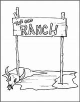 Ranch Coloring Pages Western Cowboy Vbs Makingfriends Crafts West Wild Wester Printable Sheets Outline Cool Burning Wood Printer Reserved Friendly sketch template
