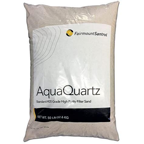 fairmount minerals pool filter sand  grade silica sand