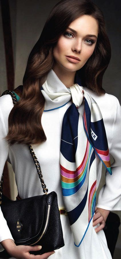 Scarf Draping Styles - 56 best images about aker scarves dresses bags 2013 14