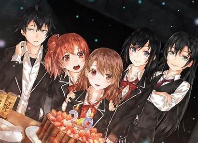 Romantic Comedy Snafu Teen Hikigaya Anime Yahari