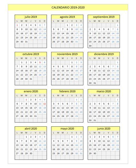 calendario xls calendario
