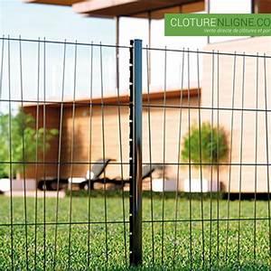 Cloture Du Melantois : panneau de cloture domino hauteur 1m50 gris ral 7016 cloture decorative ~ Voncanada.com Idées de Décoration