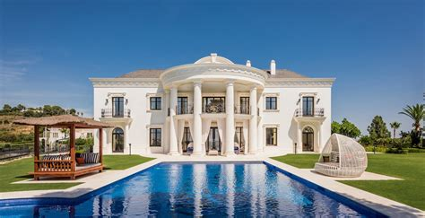 Unknown Palatial House by A Palatial Style Villa On The Heights Of Marbella In