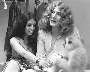 Robert Plant and (then) wife Maureen with a monkey?! Would ...