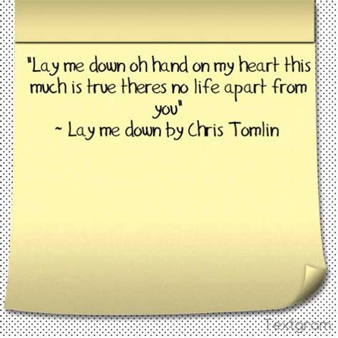 Lay To Rest Quotes