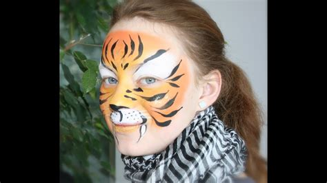 tiger schminken tiger kinderschminken vorlage video