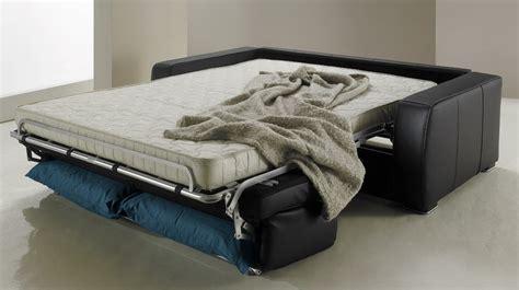 canapé rapido cuir canapé convertible rapido en cuir noir et blanc