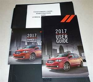 2017 Dodge Grand Caravan User Guide Owners Manual Set 17