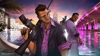 Gta Vice Wallpapers Theft Tommy Grand Vercetti