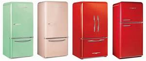 Colorful Retro Style Refrigerators