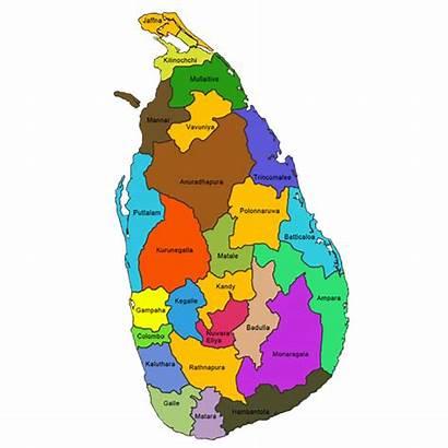 Lanka Sri District Map Gunaratnam Academy