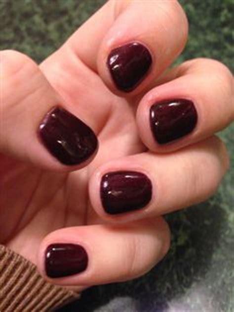 sns  dark dark berry nails nails sns nails