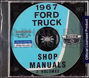 1967 Ford Pickup  U0026 Truck Repair Shop Manual Original 3 Vol