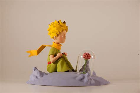 Le Petit Prince Et La Rose  Fariboles  Statuette Résine