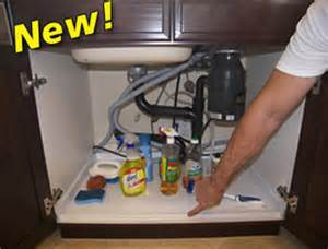 driptite slide n fit under sink pan cabinet base