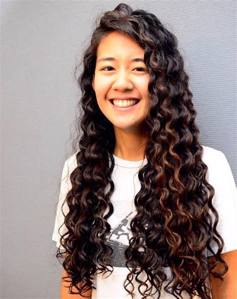 Loose Curl Perm   LONG HAIRSTYLES