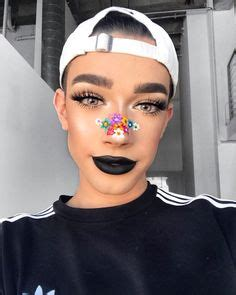 james charles glow hairmakeup pinterest discover   ideas  glasses glow