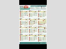 Download kalender 2017 HD PDF beserta tanggal puasa wajib